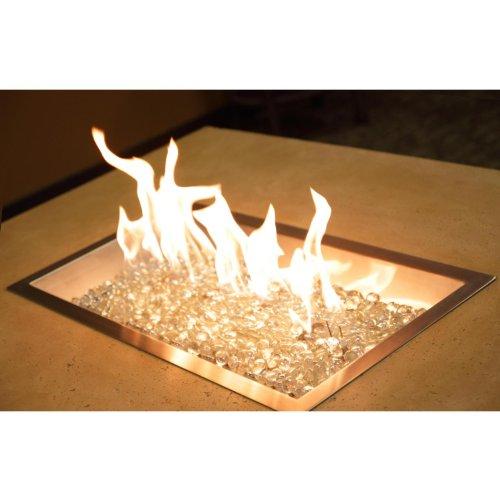 Outdoor Greatroom Company 12 X 42 Rectangular Fire Pit Burner