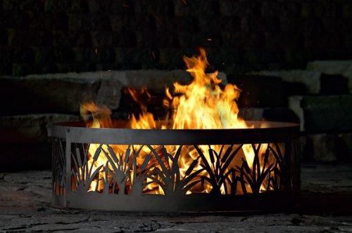 P&D Metals Cattail Fire Ring - 48