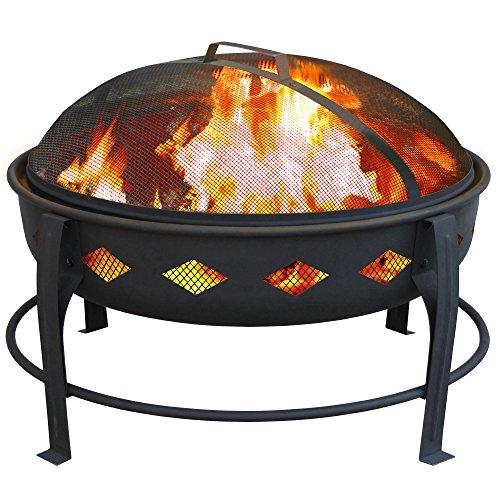 Landmann Usa Bromley Fire Pit Black