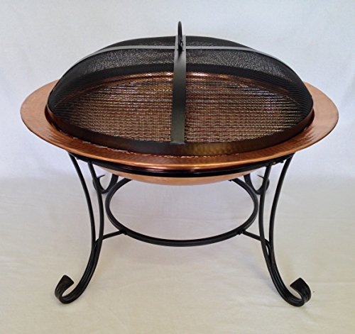 Heavy Duty Dome Fire Pit Spark Screen