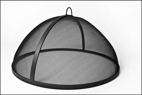 48 Welded HYBRID Steel Lift Off Dome Fire Pit Safety Screen