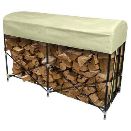 Rainmaker Brand Portable Firewood Storage Rack