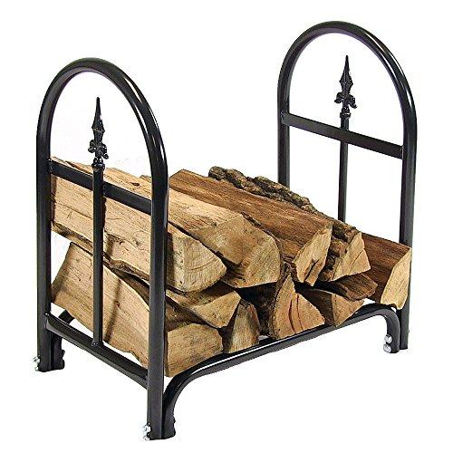 Sunnydaze 2-foot Indooroutdoor Decorative Firewood Log Rack
