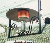 Sunglo 24 Volt E-Series Hanging Natural Gas Patio Heaters