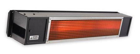 Sunpak S34B TSH Hanging Patio Heater - Black - Propane Gas LP - No Fascia Kit - Plus Free Sunpak eGuide
