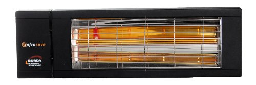 Infrasave IEP-1524 IndoorOutdoor Infrared Raidiant Heater 1500W120V