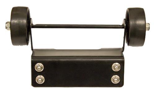 AZ Patio SGT-WHLS-BLK Wheel Set for Square Glass Tube Patio Heater Black