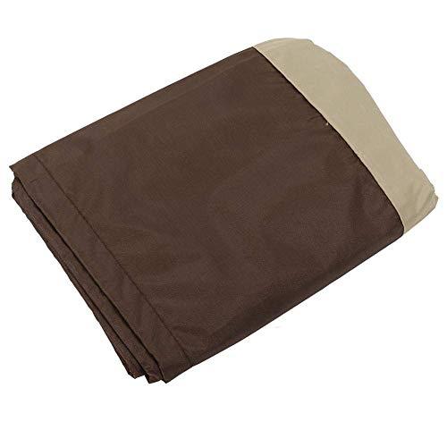 TOPINCN Waterproof Standup Patio Heater Cover Dust-Proof Outdoor Garden Stove Cover Chiminea Sun Rain Protector