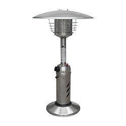 Gardensun HPS-SS 11000 BTU Indoor& Outdoor Electric Stainless Round Steel Tabletop Heater