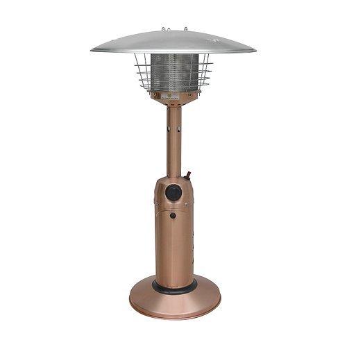 Gardensun Hps-gh 11000 Btu Indooramp Outdoor Electric Golden Hammered Round Tabletop Heater
