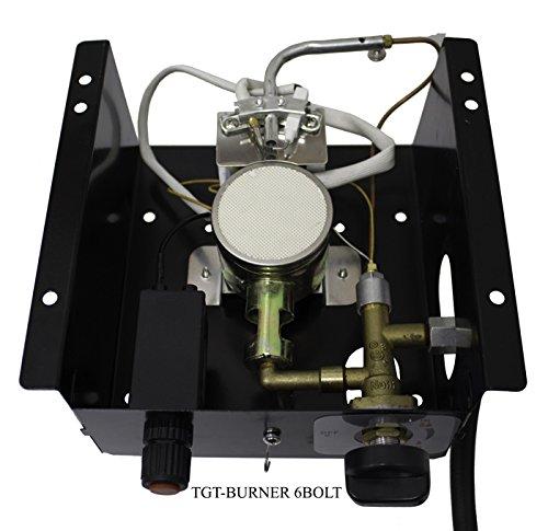 AZ Patio Heaters TGT-BURNER 6BOLT 6 Bolt Hole Pattern Burner for Triangle Glass Tube Patio Heater