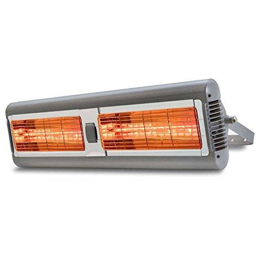 Solaria Electric Infrared Heater - Commercial-grade Indooroutdoor 3000 Watt- 240 Volts