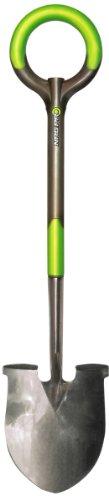 Radius Garden 202 Pro Ergonomic Stainless Steel Shovel