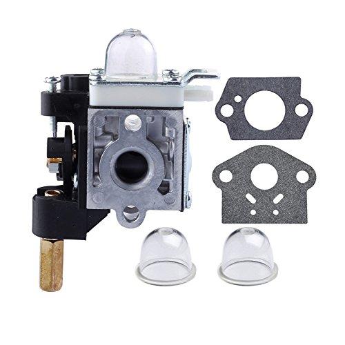 HIPA RB-K75 Carburetor with Gasket Primer Bulb for ECHO GT200 GT200i GT200R GT201i SRM210 SRM210i SRM210U SRM211 SRM211i SRM211U Trimmer HC200 HC201 PE200 PE201 PPF210 PPF211 Pole pruner