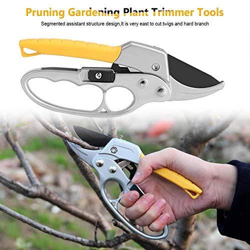 Hears Scissors Pruners High Carbon Steel Pruning Shears Cutter Gardening Plant Scissor Branch Pruner Trimmer Tools