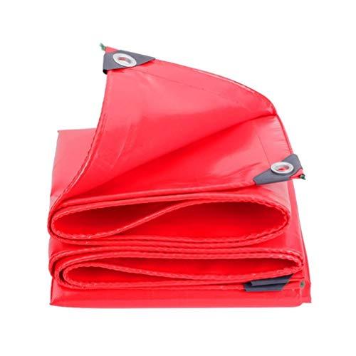 Carl Artbay Large Red Tarpaulins Heavy Duty Scraper Cloth Waterproof Poncho Camping Garden Outdoors Childrens Garden Tools Sheet Plastic Table Tent Material Groundsheet Tarps Tarpaulin