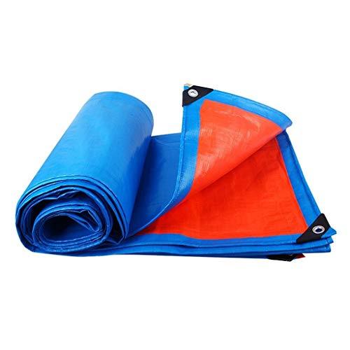 Carl Artbay Tarpaulin Waterproof Lightweight Plastic Table Cover for Camping Tent Blue Tarps Canvas Sheets Childrens Garden Tools Tarps Outdoor Anti UV Floor Beach Mat Tarpaulin Size  5mx7m