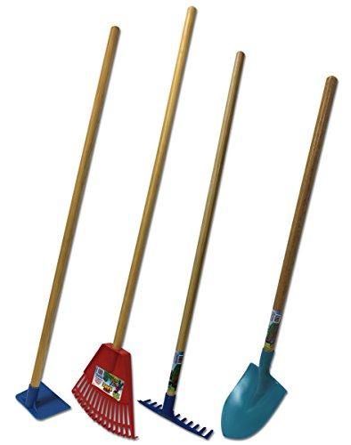 Emsco Group Little Diggers Kids Garden Tool Set - Four-Piece Set - Child Safe Tools - Garden with Your Kids