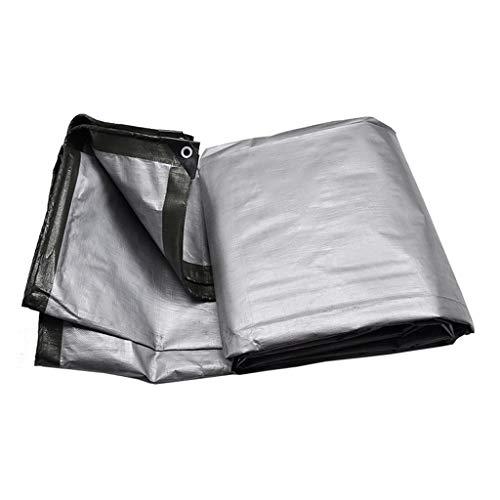 GRJ-FSB Army Green Tarpaulin Tent Cloak Rainproof Camping Plant Protection Sunscreen Sun Protection UV Protection Childrens Garden Tools Ultralight Sheet Ground Fence Tarps Size  3mx4m