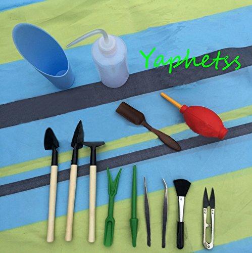 Succulent Transplanting Mini Garden Planting Hand Tools Set 13Pc