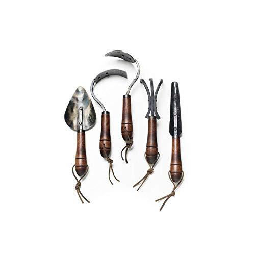 EZ Web Buys Gardening Tool Gift Set Handforged by Fisher Blacksmithing in Bozeman Montana