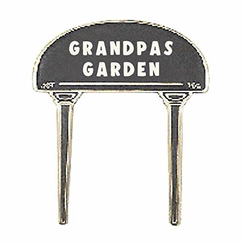 Solid Brass Plate Garden Sign Grandpas Garden Brass Plaques