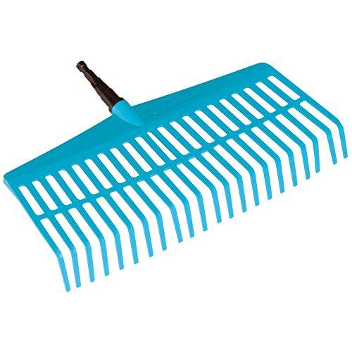 Gardena 3101 Combisystem 17-inch Plastic Lawn Rake Head