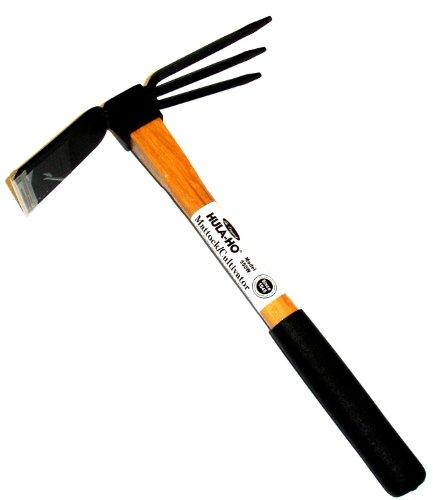 Flexrake 550w Hula-ho Mattockcultivator With 14-inch Wood Handle