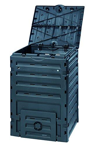 Exaco 628001 Eco-Master Polypropylene Composter 120-Gallon Black