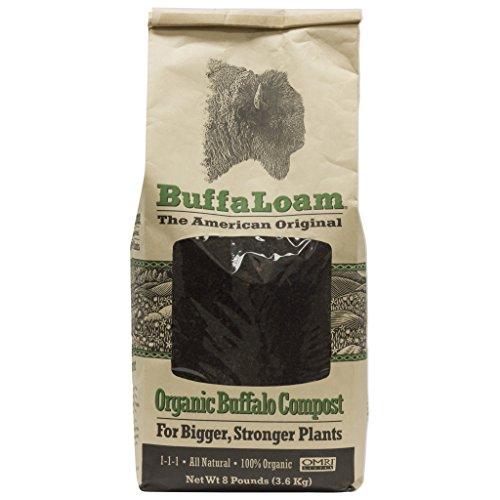 BuffaLoam Organic Compost 8 Pounds