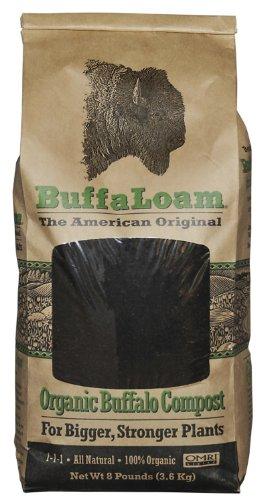 Buffaloam Organic Buffalo Compost 8-Pound