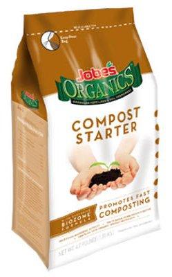 Jobes Easy Gardener 09926 4 LB 4-4-2 Organic Compost Starter Granular Fertilizer - Quantity 4