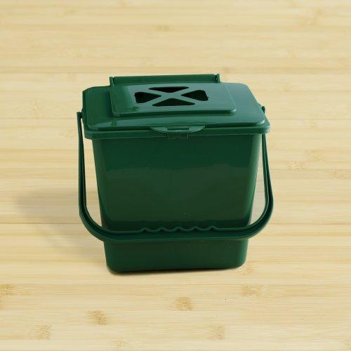 Kitchen Compost Bucket 55 Quart Green