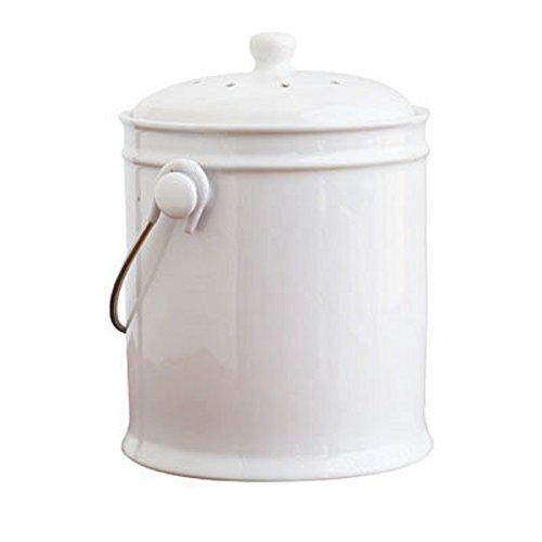 Natural Home Ceramic Compost Bucket Ceramic Compost Bin