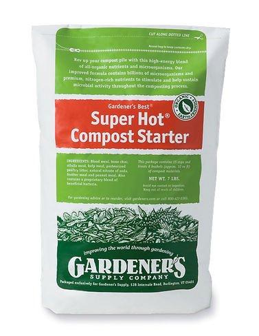 Compost Starter Super Hot174 7-pound Resealable Bag