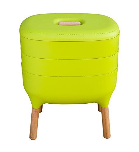 Urbalive Indoor Worm Farm - Organic Compost Vermicomposter Chic European Design green
