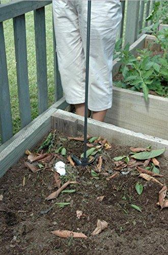 Compost Pile Waste Garden Lawn Aerator Mixer Oxygen Circulator Turner Startergy583-4 6-dfg266437
