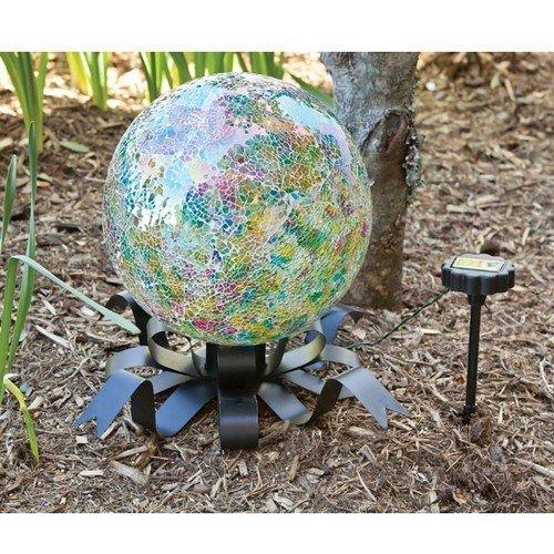 Evergreen Enterprises EG491557 Solar Gazing Ball Stand