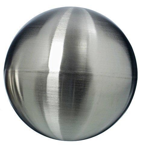 Immo Ingenious Garden Gazing Ball Galaxy - Matt Stainless Steel Silver Floating Ball - Metal Decorative Ball - 1063