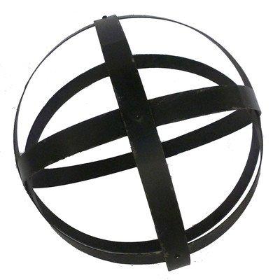 Metal Garden Sphere Size 355 H x 355 W x 355 D