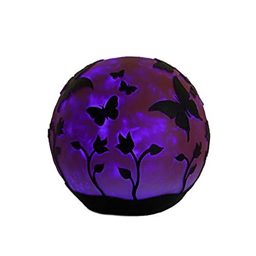 HISC 5499 Garden Gazing Globe Ball44 Butterflies - Pink
