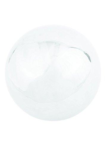 Russco Iii Gd137715 Stainless Steel Gazing Ball 10&quot Silver