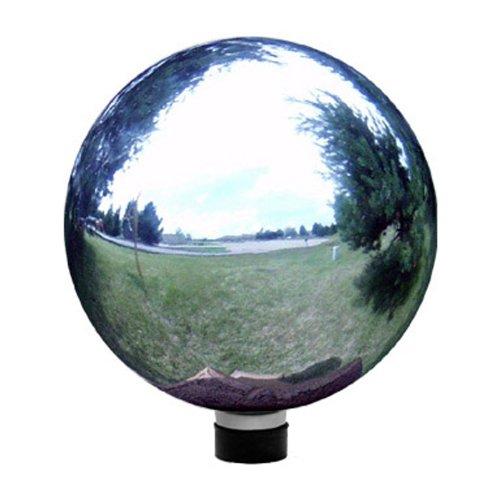 Echo Valley 8102 10-Inch Glass Gazing Globe Silver