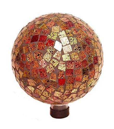 Echo Valley 8188 Phoenix Mosaic Glass Gazing Globe 10-inch