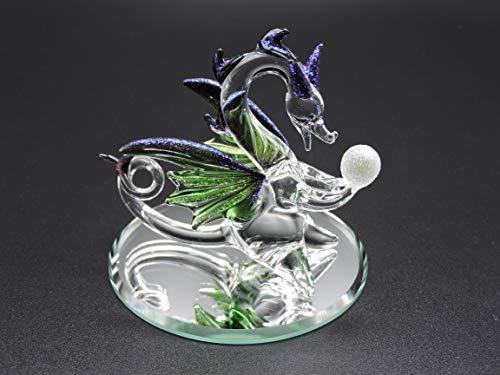 Handmade Glass Dragon - Dragon Gaze