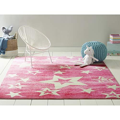 Home Dynamix Star Gaze Kids Area Rug 41x66 411x66 Rectangle Pink