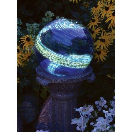 Echo Valley 8640 6 Blue Swirl Illuminarie Gazing Globe