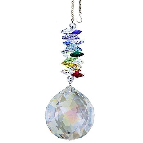 Swarovski 45 Crystal Ornament Diva Aurora Borealis Ball Prism Amazing Rainbow Maker Crystal Cascade Suncatcher