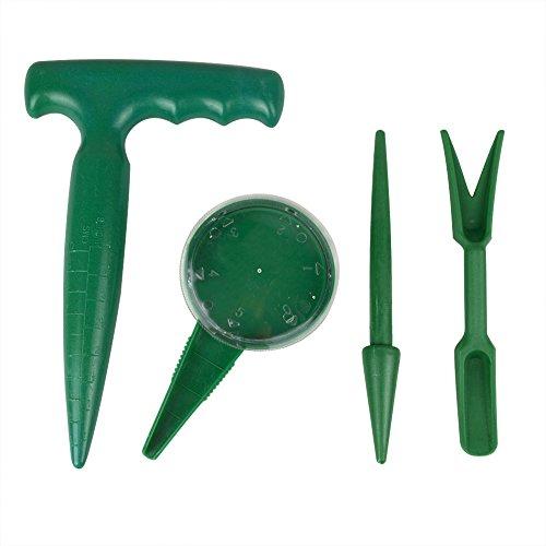 Garden Hand Tool Flower Plant Sow Traditional Sets Pistol Grip Dibber Sowing Seeds Dispenser Seedlings Dibber