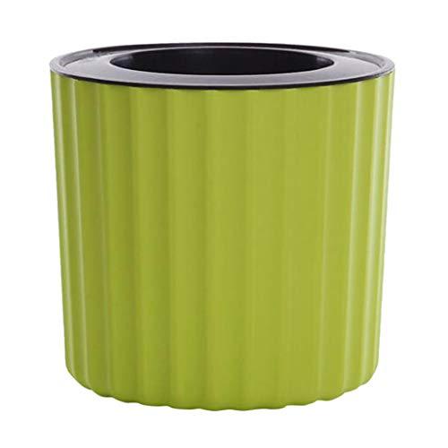 LOVIVER Upscale Plastic Self Watering Planter Flower Pot for Flowers Herbs Vegetables Succulents - Green - 98cm Inner Dia